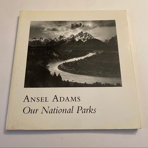 Ansel Adams Our National Parks photography book 1992 First Edition